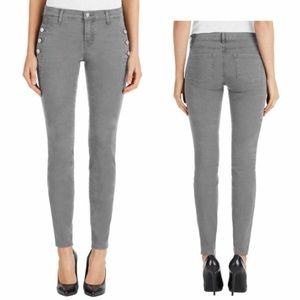 J Brand Jeans 27/4 Zion Distressed Silver Fox
